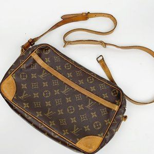 Louis Vuitton Monogram Crossbody Trocadero